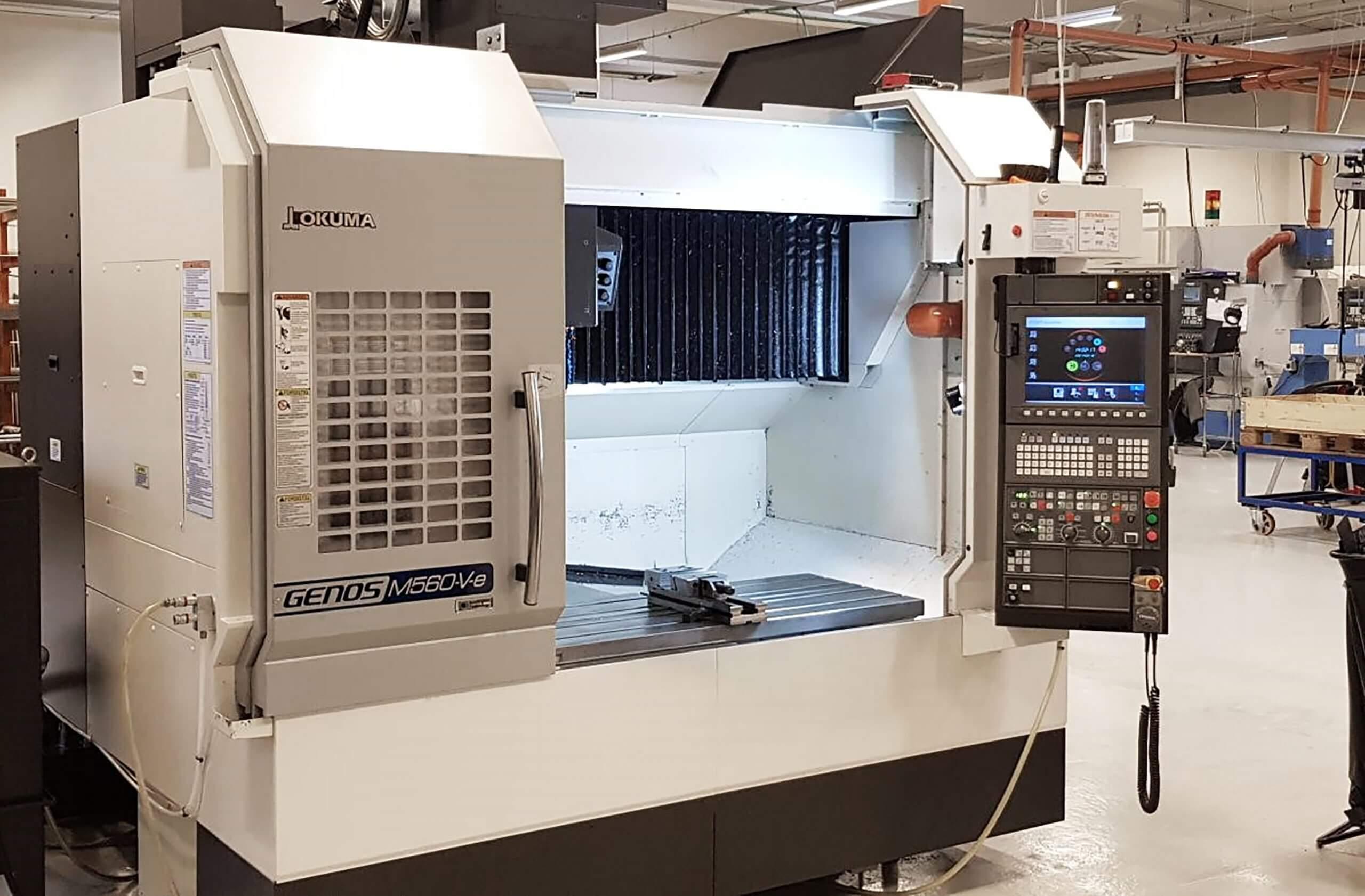 CNC-fræsemaskiner