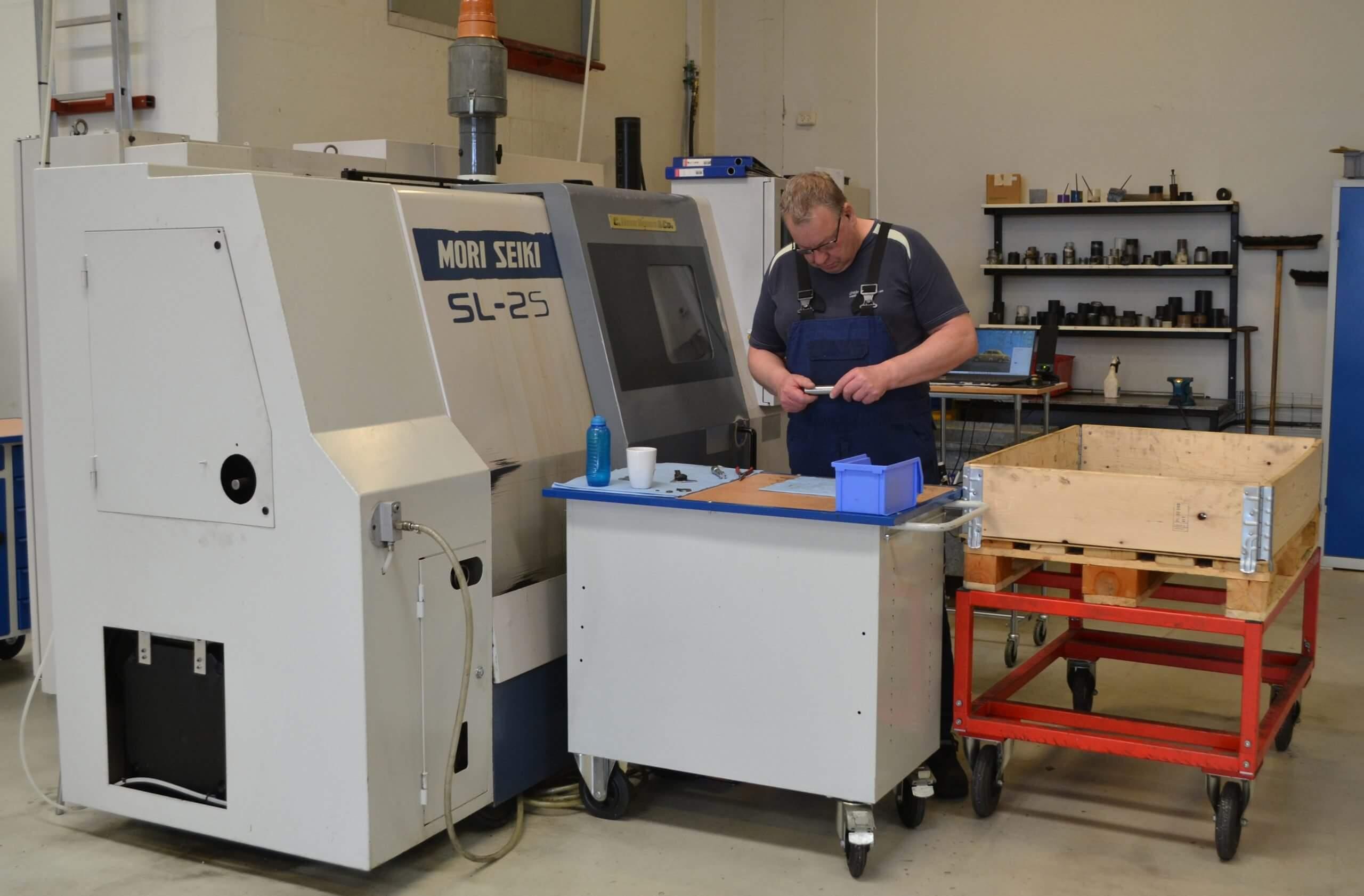 produktion Krogsgaards Maskinværksted